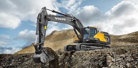 Volvo EC480E sets the standard for efficient excavation
